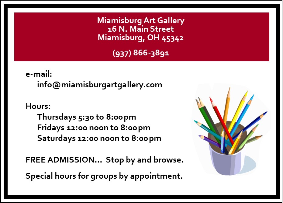 Contact Us | Miamisburg Art Gallery
